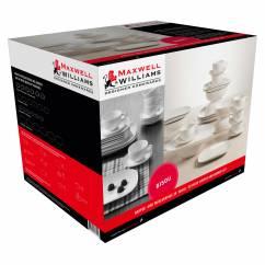 BISOU Kaffee- und Tafelset 30-teilig, Porzellan, in Geschenkbox