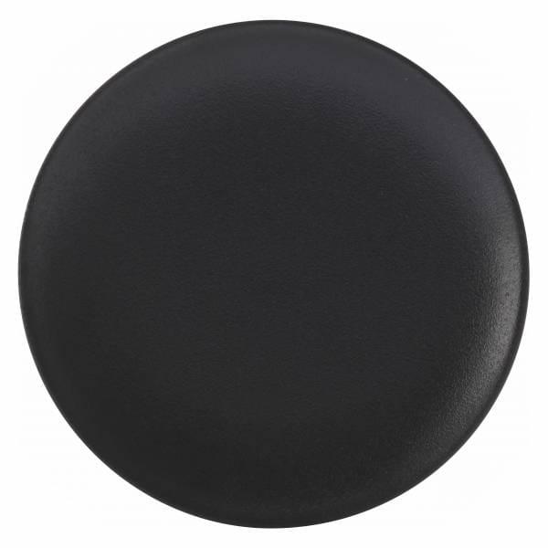 CAVIAR BLACK Teller 27 cm, Premium-Keramik
