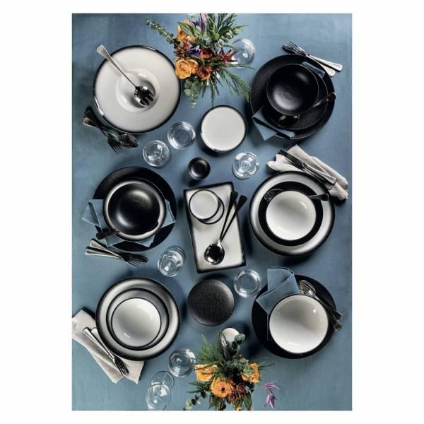 CAVIAR GRANITE Dipschale 10 cm, Premium-Keramik