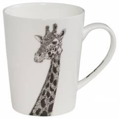 MARINI FERLAZZO Becher African Giraffe, Premium-Keramik, in Geschenkbox