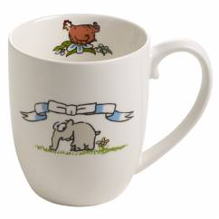 OTTIFANTEN Kaffeebecher Motiv 2 300 ml, Bone China Porzellan, in Geschenkbox
