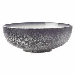 CAVIAR GRANITE Schale 19 cm, Premium-Keramik