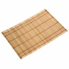 PLACESETS Platzset Terracotta, 45 x 30 cm, Bambus