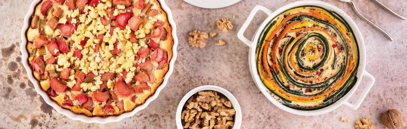Ofenformen – Quiche, Tarte oder Kuchen