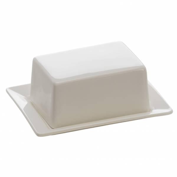 KITCHEN Butterdose für 125g Butter, 13 x 10 cm, Porzellan
