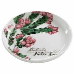 BOTANIC Untersetzer Floral Rose, 10 cm, Bone China Porzellan, in Geschenkbox