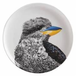 MARINI FERLAZZO Teller 20 cm, Kookaburra, Premium-Keramik, in Geschenkbox